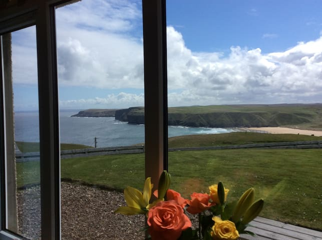 Stunning view over Strathy Bay