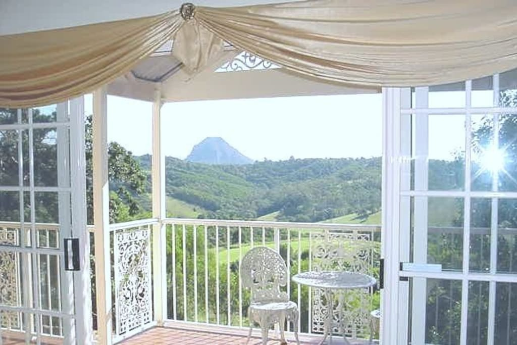 Federation Cottage view to Mt. Cooroora