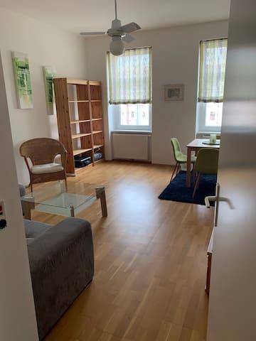 Zentrale,  ruhige, voll ausgestattete Wohnung