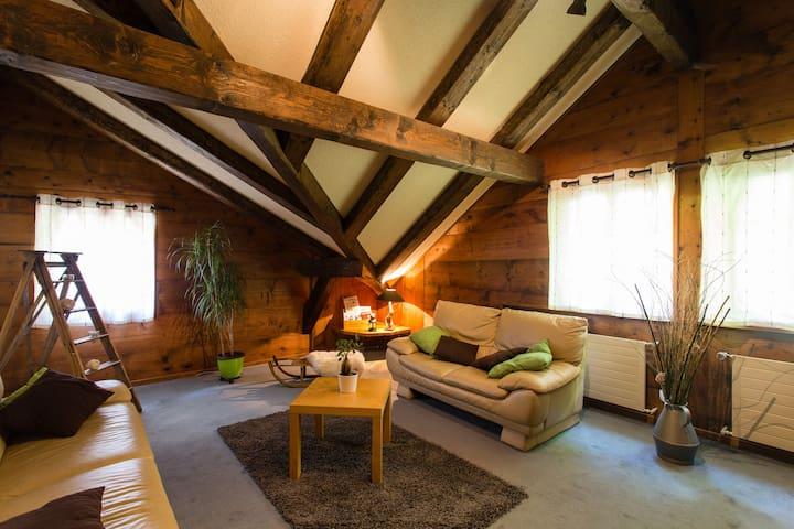 Au coeur du village, logement cosy - Champéry - Chalet