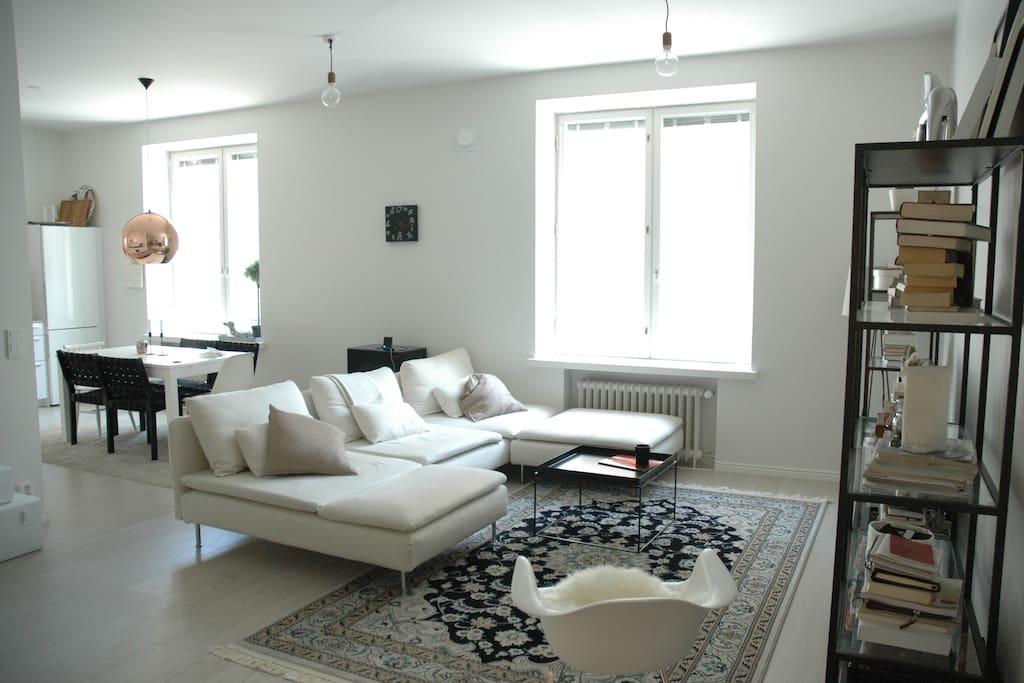 Modern cozy 80m2 design district apartments for rent for 80m2 apartment design