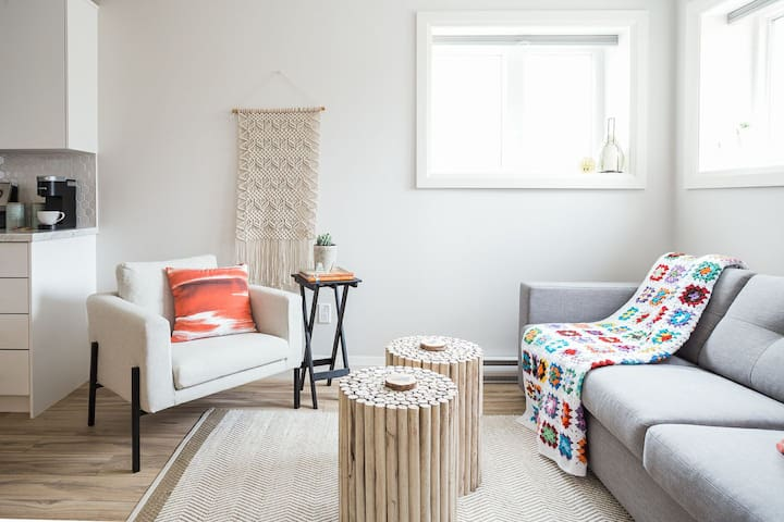 Living Space w/Pull-out Sofabed