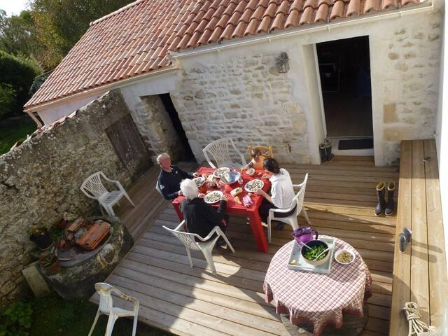 Maison campagne proche Fouras - Saint-Laurent-de-la-Prée - 一軒家