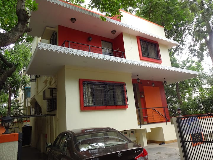 3bhk bunglow with a Patio.