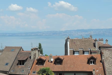 Bright and charming/Charmant appart - Évian-les-Bains - 아파트