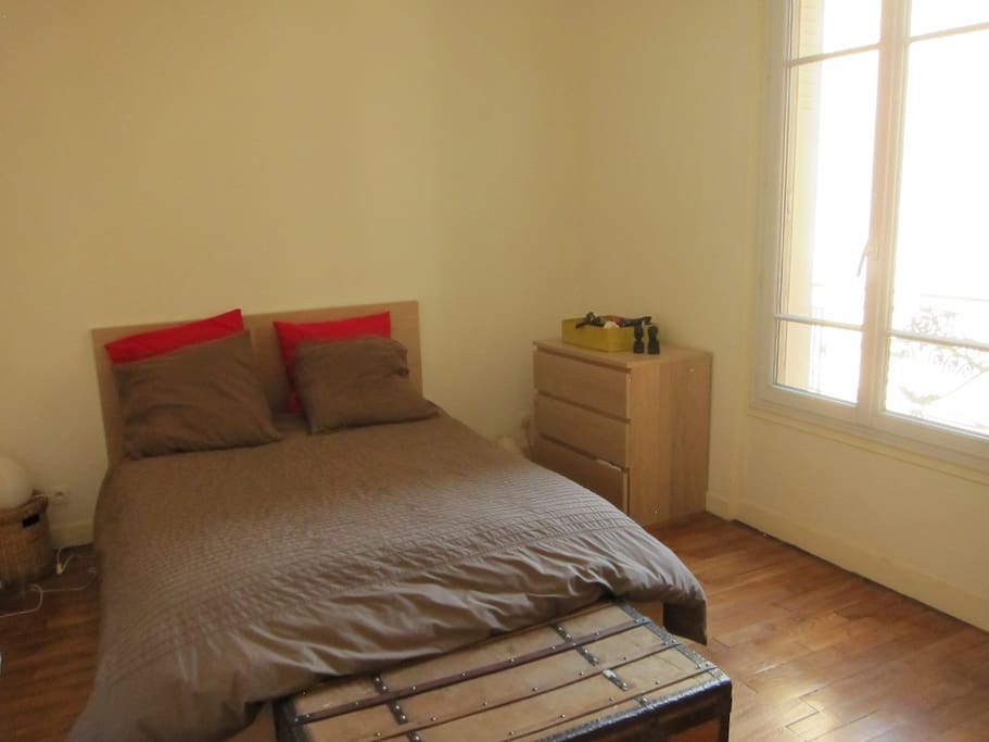 Grande chambre, au frais pour l'été !
