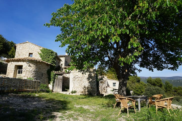 Les Lavandes: Mazet Les Figuiers en Lubéron - Saint-Saturnin-lès-Apt - Casa