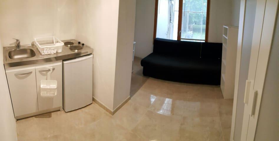 Studio,metro fac lille1&3, stadium, lille centre - Villeneuve-d'Ascq - Appartement