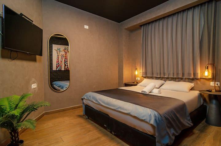 Deluxe suite in Beer Garden Hotel, Heart of TLV
