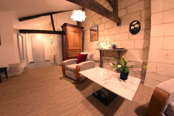 B&B Beaulieu La Source - Chambre Agave - Saumur - Bed & Breakfast