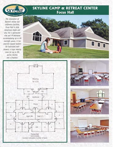 Skyline Camp & Retreat Center - Almont - Muu