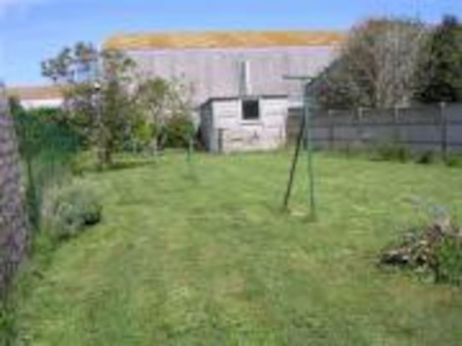 Jardin clos (130 m2)