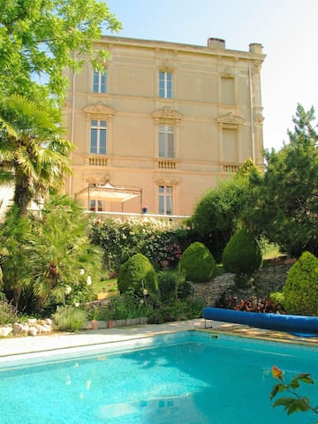 Second floor apartment sleeping 1-6 - Ventenac-en-Minervois - Appartement