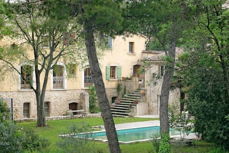 AccentSud,chambres sur le jardin - Aniane - Bed & Breakfast