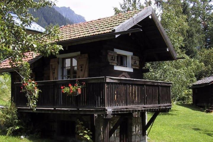 Stephen's mazot in Chamonix