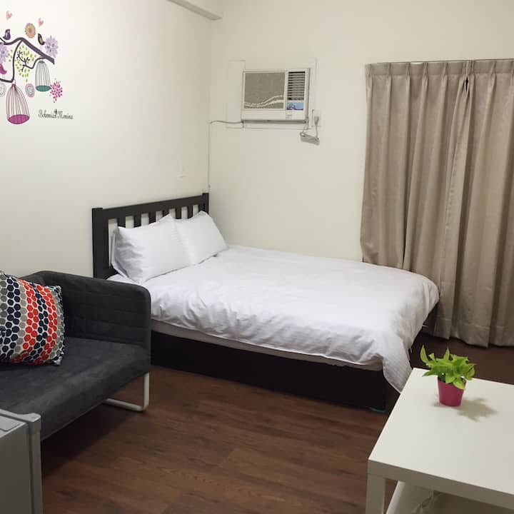 台中市火車站日租套房-台中日租168套房(三民2號)-Newsation168-Room2