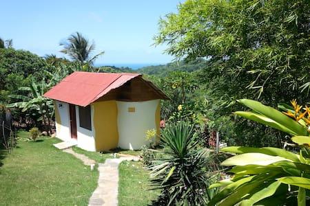 Ranchetta (B&B, hot water, WIFI) tropical Garden - Las Galeras - バンガロー