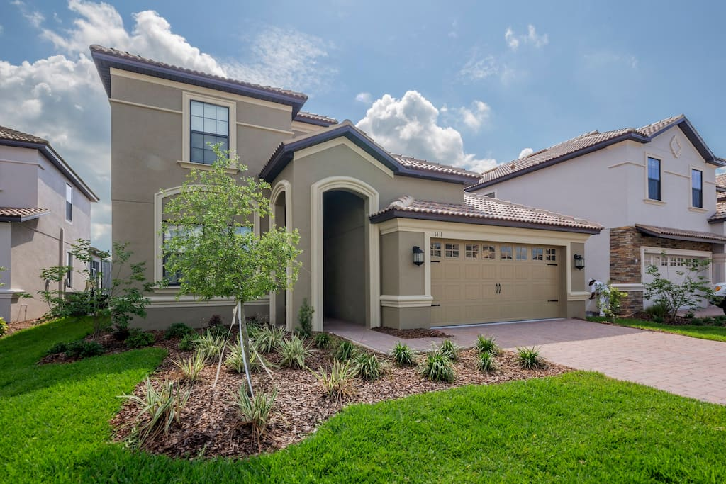 This elegant and spacious family vacation home is located on the Champions Gate community - just minutes from Walt Disney World® Resort! and all of the Orlando attractions.