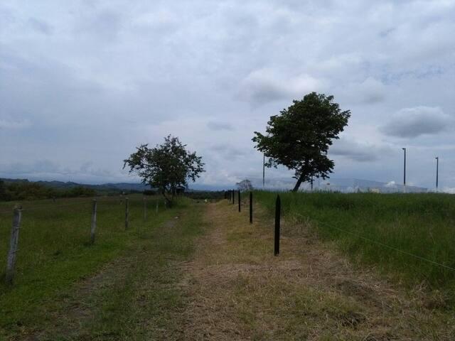 Contacto natural en Colombia - Moctezuma - Andre
