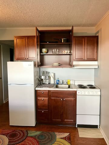 **Awesome Private Condo Near UT/Downtown**