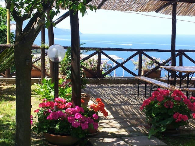 Tessa's holiday, villa on Capri