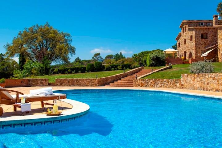 Masia Cal Agusti, Luxury Villa, Costa Brava