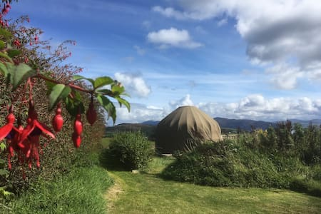 Romantic two person yurt in Donegal