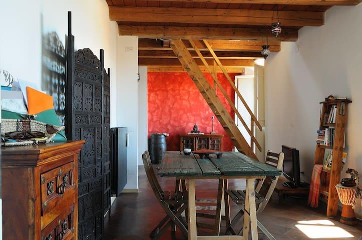 Appartamento bohemien a palazzo - Forlì - Appartement