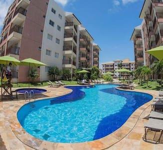 Melhor do Porto das Dunas 2 quartos 300 mts Beach - Aquiraz - อพาร์ทเมนท์