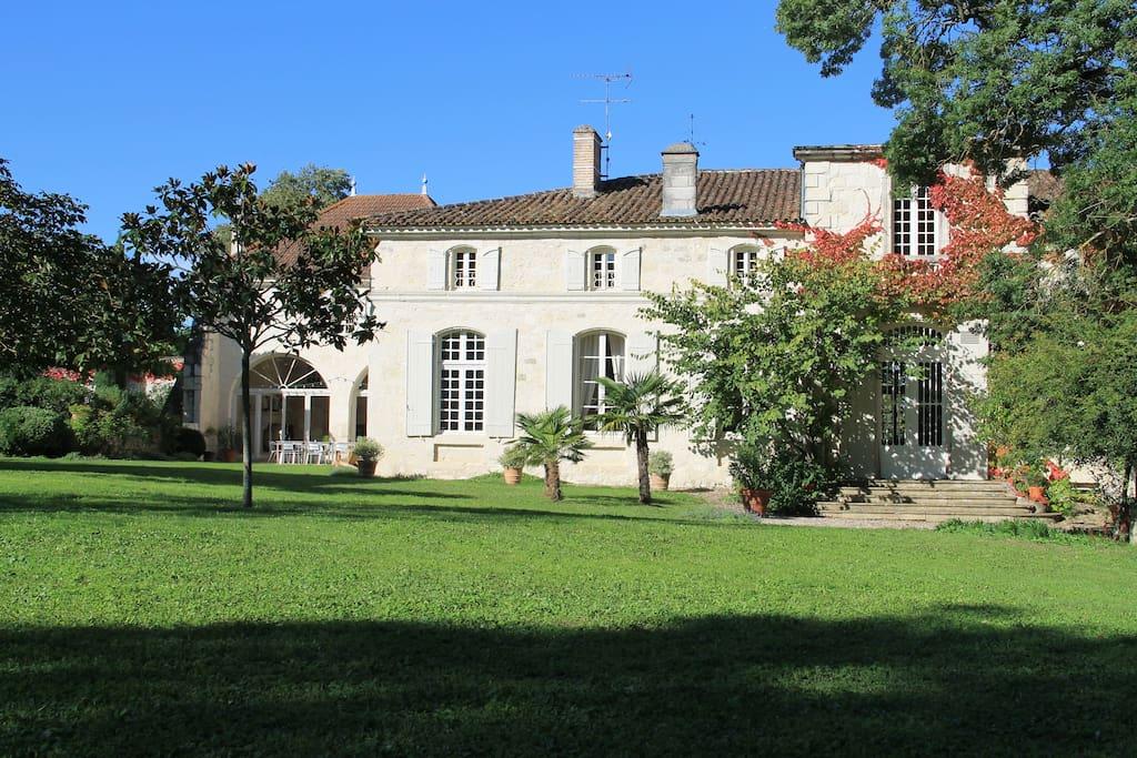L 39 horta maison d 39 h tes de charme chambres d 39 h tes - Chambres d hotes de charme aquitaine ...