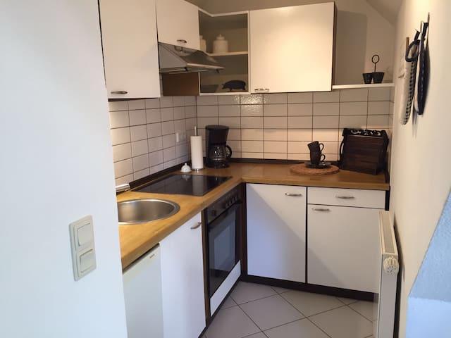 Gemütliche DG-Wohnung im Herzen Rendsburgs - Rendsburg - Apartament