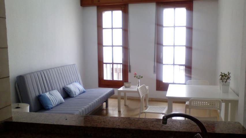 apartamento ático en el centro de Castellón - Castelló de la Plana - Apartamento