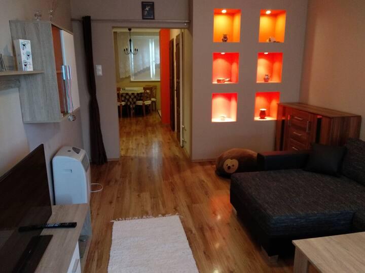 Samu's Flat Apartman-jól felszerelt,fiatalos lakás