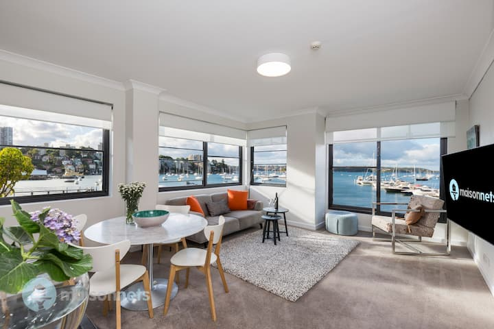 Absolute Waterfront Double Bay 2 Bedroom Apt