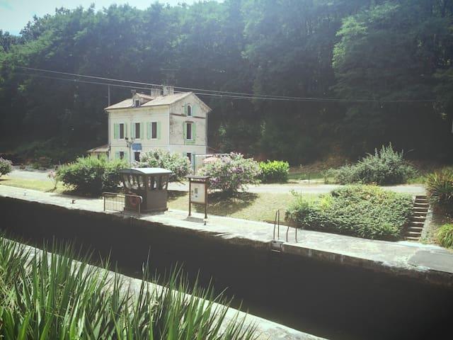 Maison éclusière au bord de la voie verte - Meilhan-sur-Garonne