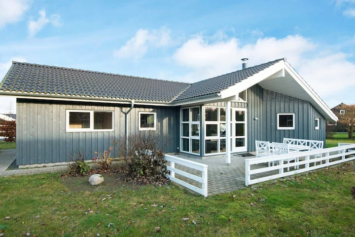 Peaceful Holiday Home in Glesborg Denmark with Sauna