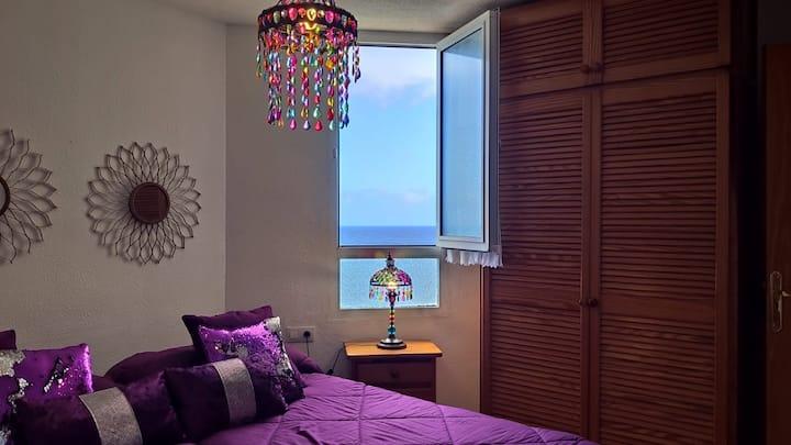 Apartamento Ribamar con vistas al mar