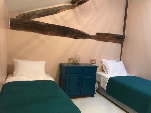 Our third bedroom has comfortable twin beds