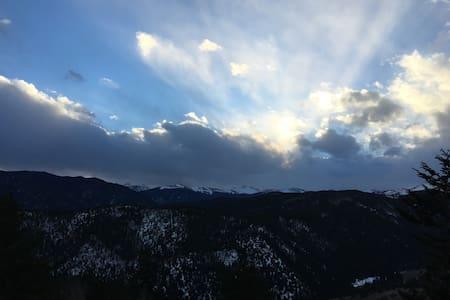 Mountain Retreat - Heavenly View! - Idaho Springs - Blockhütte