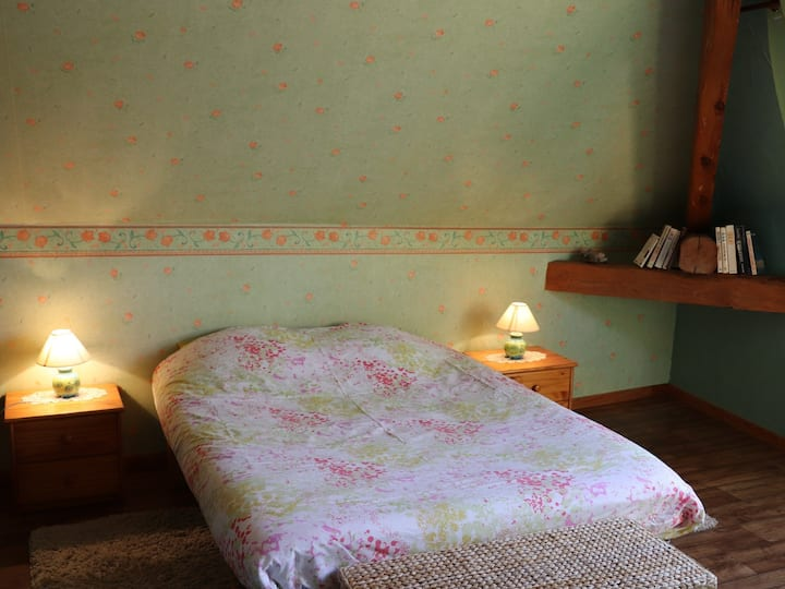 Double room-Ensuite-Classic-Mountain View-Gleize