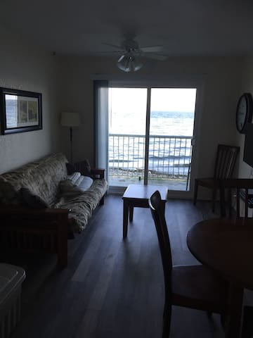 1 Bdrm condo right on Bates beach