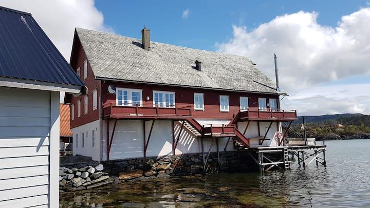 Sjarmerende sjøhus