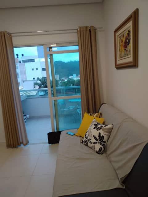 Apartamento novo e mobiliado na Praia Grande