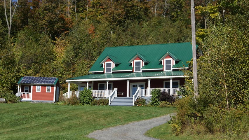Beautiful Secluded Country Property Near Sugarbush