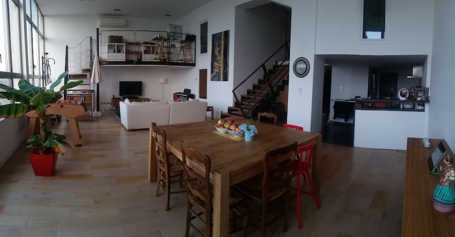 Spacious loft in Roubaix, 5 min from Velodrome - Roubaix - Loft