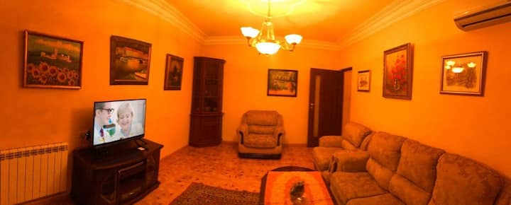 Bright Classic apt on Sayat-Nova ave 33-55