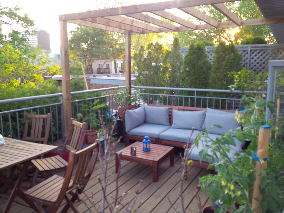 Penthouse with private terrasse appartements louer - Appartement a louer vieux port montreal ...