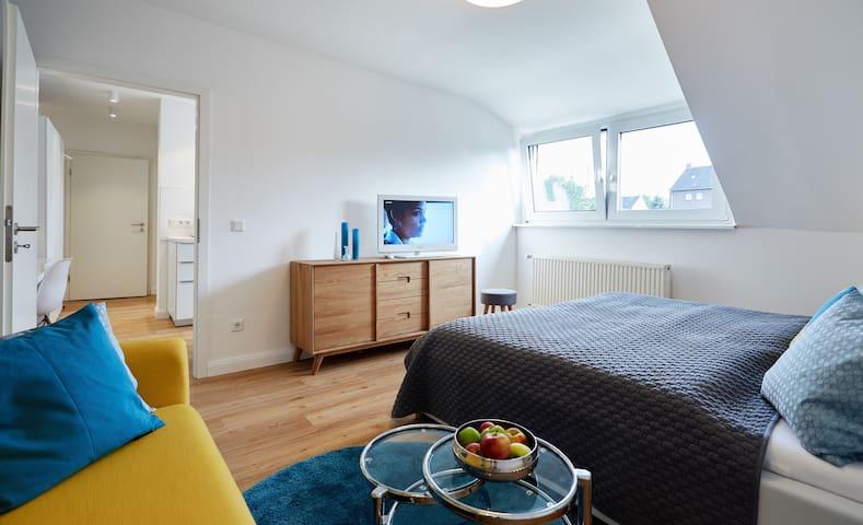 Stilvolles Apartment nahe Düsseldorf - Krefeld - Квартира
