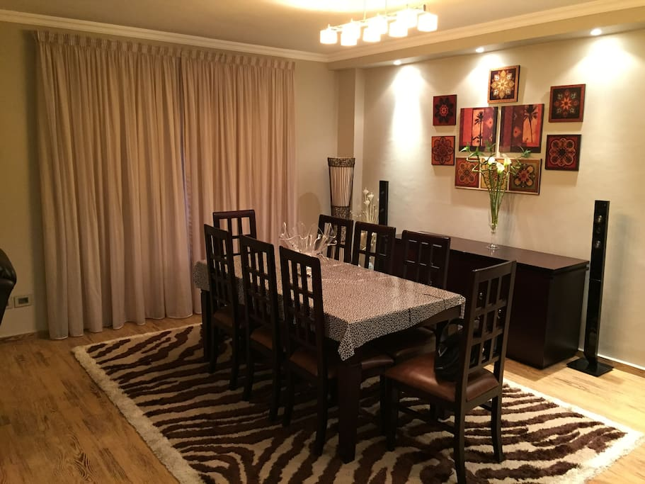 Decorated Dinning Room