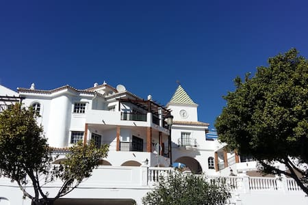 Firstline seafront,Beach, Great Park, Wiffi Free, - Benalmádena